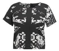 ABSTRACT - T-Shirt print - black/white