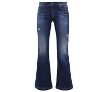 SILVIA Flared Jeans morning wash