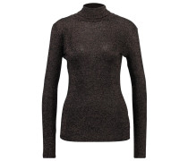 SALLY - Langarmshirt - black metallic