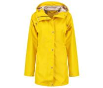 Regenjacke / wasserabweisende Jacke cyber yellow