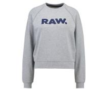 GStar XULA ART STRAIGHT R SW L/S Sweatshirt grey heather