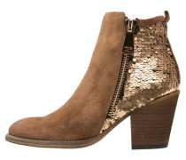 Ankle Boot camel/gold