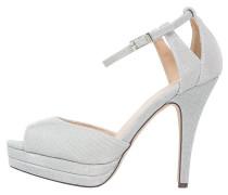 CHAMBONNIERS High Heel Sandaletten silver