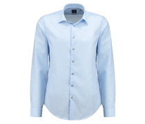 CANNES FITTED Businesshemd soft blue