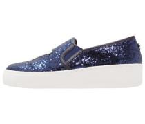 NYC - Slipper - blue glitter