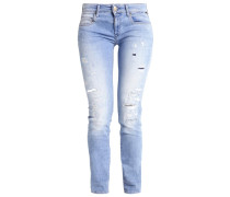 ROSE Jeans Slim Fit destroyed denim/blue denim