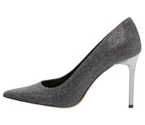 RUANDA High Heel Pumps black/argento