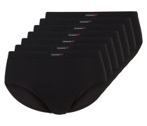 7 PACK Slip black