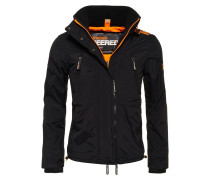 Übergangsjacke black/fluro orange