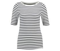 T-Shirt print - white stripe