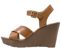 PENGE High Heel Sandaletten brown