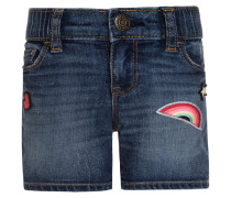 Jeans Shorts - faded blue denim