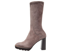 Plateaustiefel - taupe
