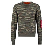 X FIT - Sweatshirt - mottled green