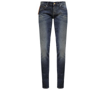 SERENA Jeans Slim Fit green shaded glam