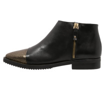 MONACO Ankle Boot noir/or