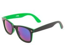 Sonnenbrille neon green/black