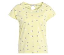 DOREY - T-Shirt print - pale lime yellow