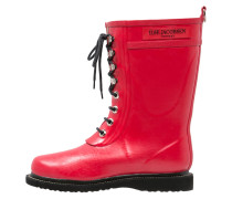 Gummistiefel deep red