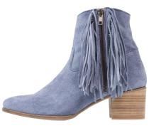 Cowboy-/ Bikerstiefelette - jeans