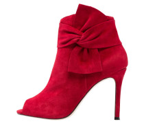 Ankle Boot red