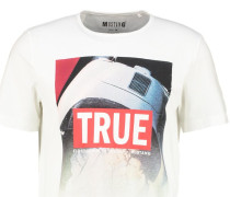 TAILORED FIT TShirt print weiss
