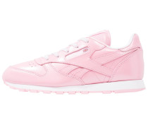 CLASSIC LEATHER METALLIC - Sneaker low - light pink/white