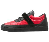 CHUTORO Sneaker low vintage black/red/gold