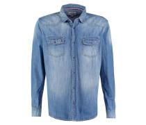 REGULAR FIT Hemd blue denim