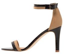 EMELIE High Heel Sandaletten black/khaki