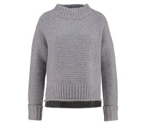 PADSHA Strickpullover strong grey