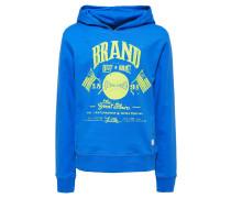 Sweatshirt kobalt