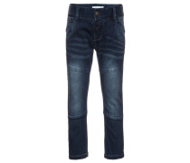 NITBACLAS - Jeans Slim Fit - dark blue denim