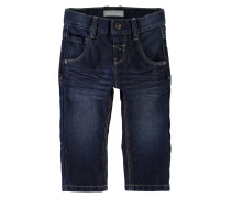 NITALEX Jeans Straight Leg dark blue denim