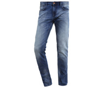 Jeans Slim Fit light stone wash denim