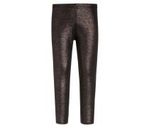 Leggings Hosen black/gold