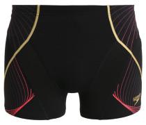 Badehosen Pants black/pyscho red/global gold