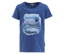 EASLEY TShirt print french blue melange