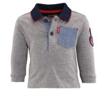 OMAR Poloshirt gris chine