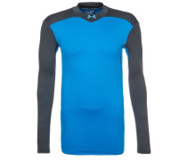 MOCK Langarmshirt brilliant blue/black