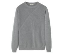 CRUNCH Strickpullover medium heather grey