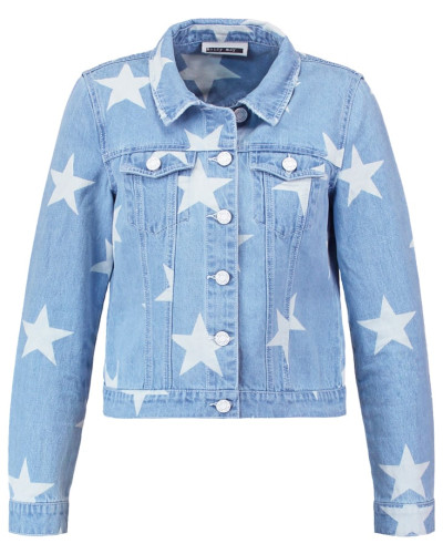 NMDEBRA Jeansjacke light blue denim