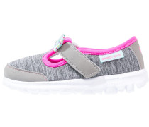 GO WALK BITTY BOW Riemchenballerina grey/multicolor