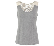 Top light grey melange