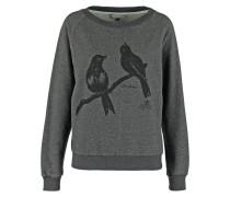 LOVE BIRDS Sweatshirt dark grey