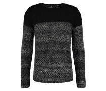 SPLIT PETERSON Strickpullover anthracite chine