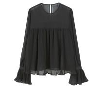 PLISADA Bluse black