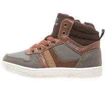 Sneaker high grey/dark brown
