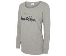 MLSIGN Sweatshirt light grey melange