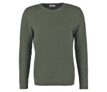 Strickpullover rifle green